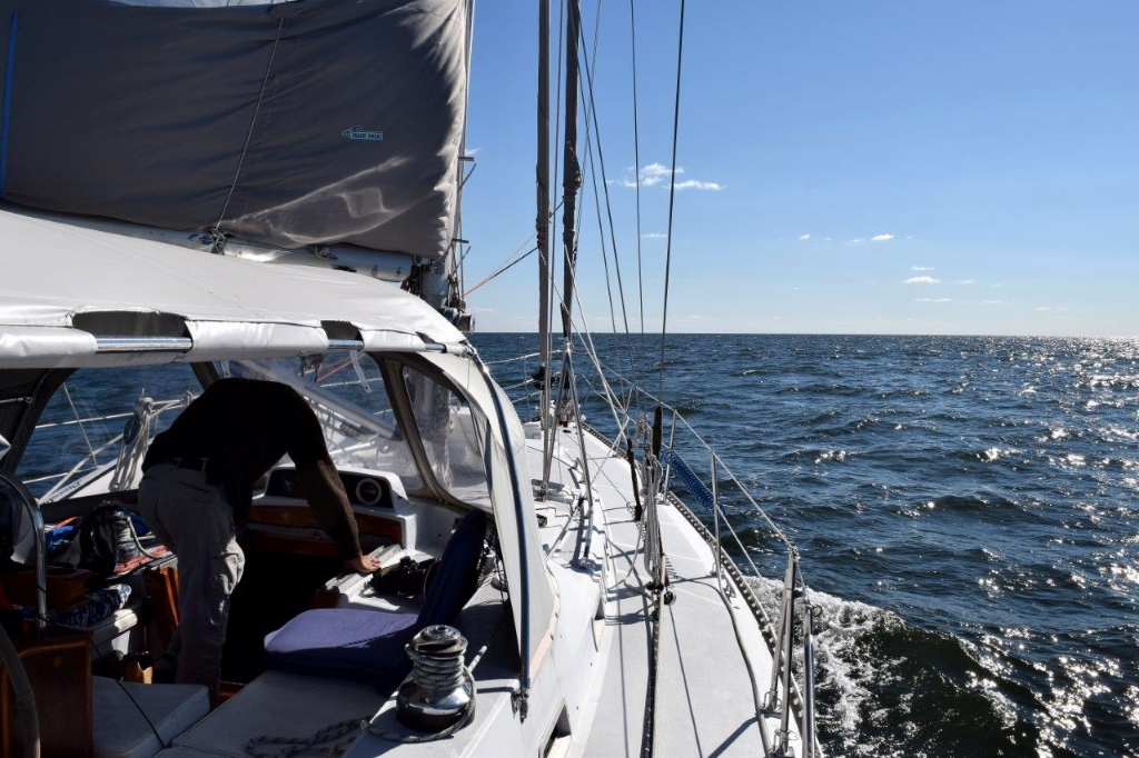 Sailing Atlantic Ocean, Chesapeake Bay
