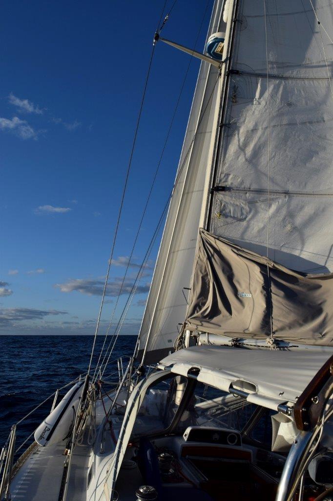 Sailing Atlantic Ocean east coast USA