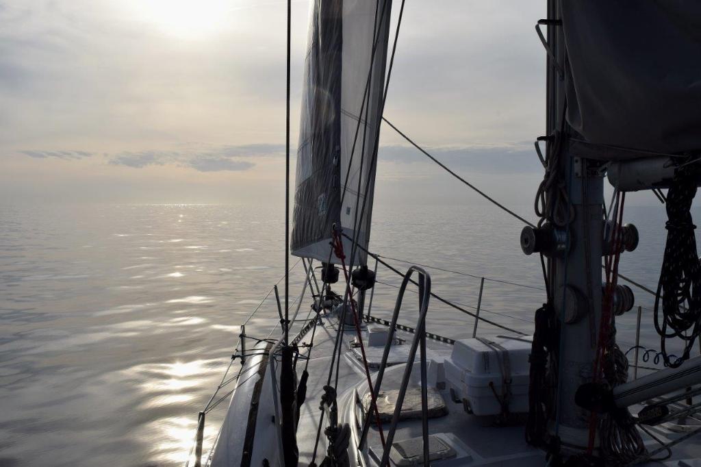 calm ocean at Cape Hatteras